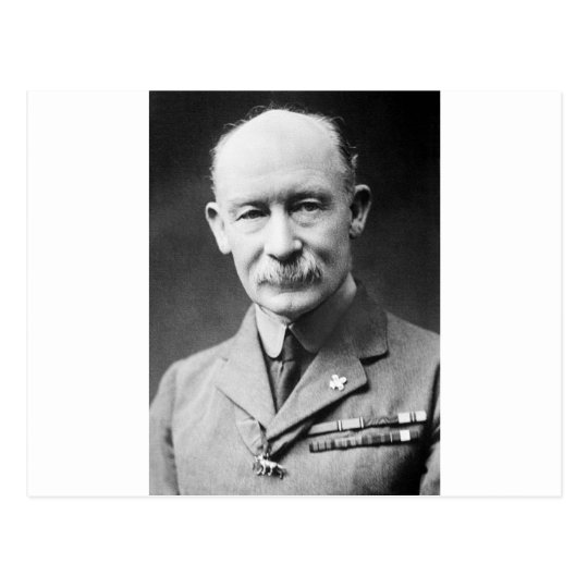 Robert Baden-Powell Postcard