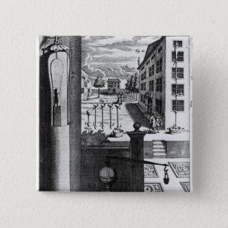 Robert Boyle's designs and ideas 15 Cm Square Badge