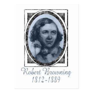 Robert Browning Postcard