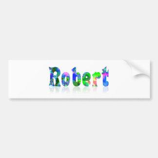Robert Bumper Sticker