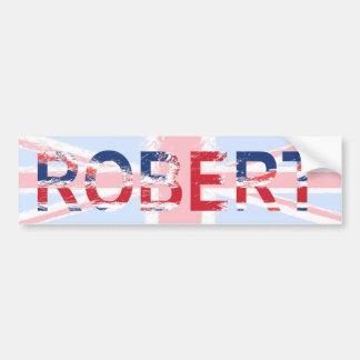 Robert Car Bumper Sticker