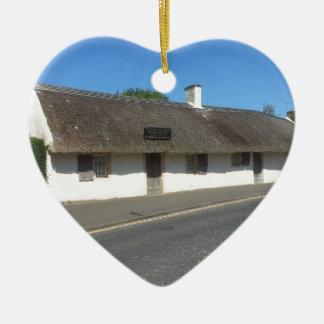Robert Burns Cottage, Alloway, Ayrshire, Scotland Christmas Ornament