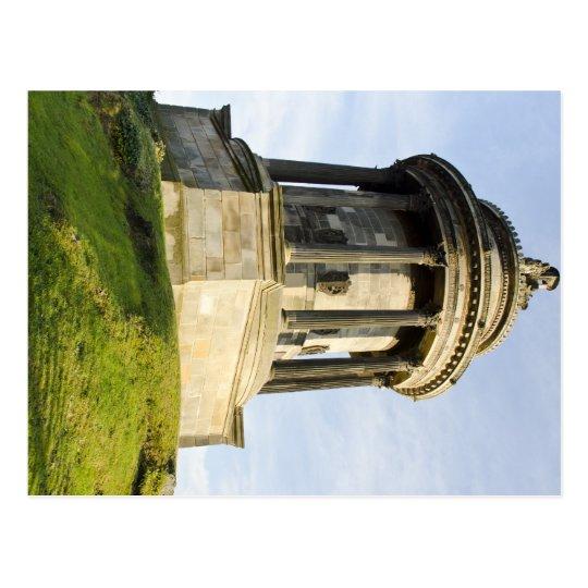 Robert Burns Memorial in Edinburgh, Scotland Postcard