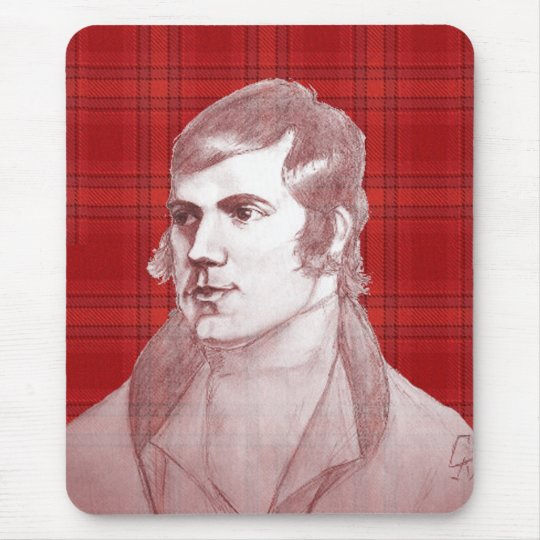 Robert Burns Mouse Mat