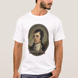 Robert Burns, Portrait of Scotland's National Bard T-Shirt