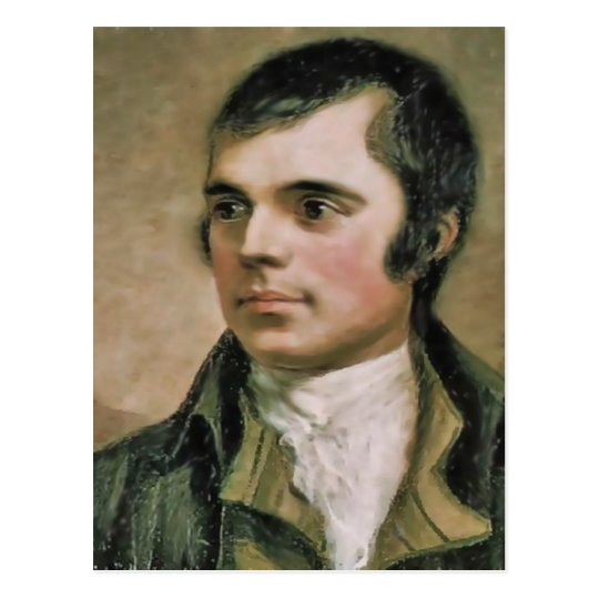 Robert Burns Portrait Postcard
