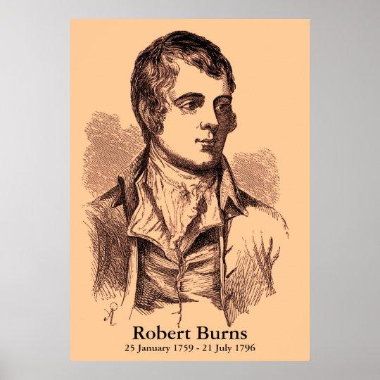 Robert Burns Poster   Zazzle