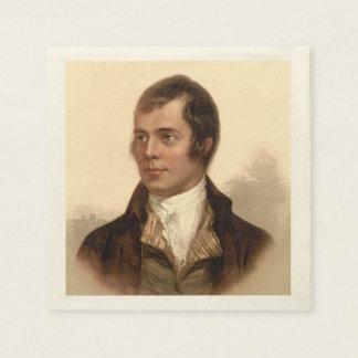 Robert Burns Scottish Dream Napkins Disposable Napkins