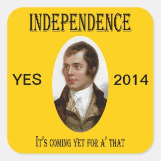 Robert Burns Scottish Independence Sticker