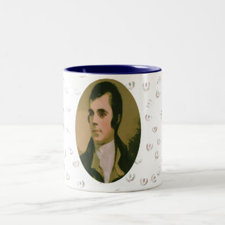 Robert Burns Thistle Mug