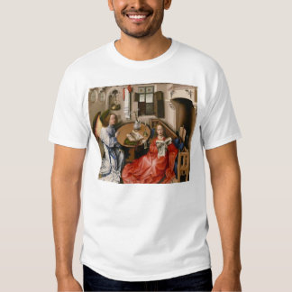Robert Campin- The Mérode Altarpiece –Annunciation Tshirts