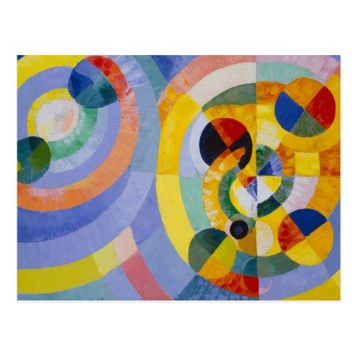 Robert Delaulay - Circular Forms Postcard