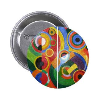 Robert Delaunay abstract art 6 Cm Round Badge