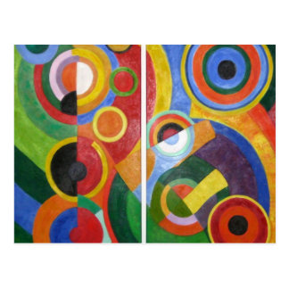 Robert Delaunay abstract art Post Cards