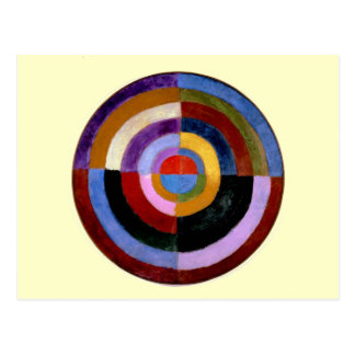 Robert Delaunay abstract art Postcard