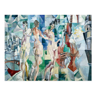 Robert Delaunay - City of Paris Post Card