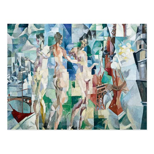 Robert Delaunay - City of Paris Post Card