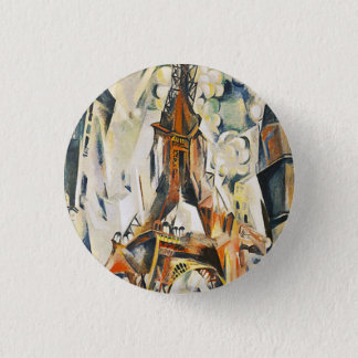 Robert Delaunay Eiffel Tower Button