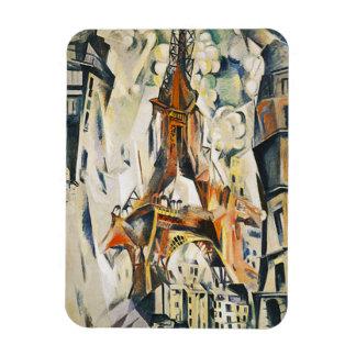 Robert Delaunay Eiffel Tower Magnet