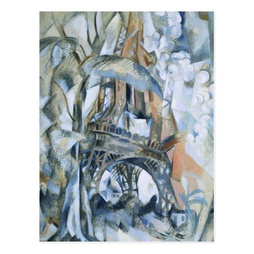 Robert Delaunay - Eiffel Tower Post Cards