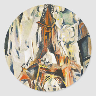 Robert Delaunay Eiffel Tower Stickers