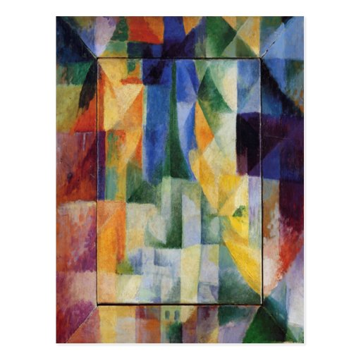 Robert Delaunay - Simultaneous Windows on the City Post Card