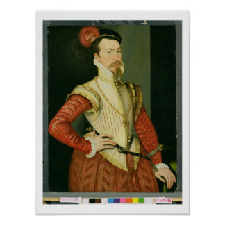 Robert Dudley (1532-88) 1st Earl of Leicester, c.1 Poster