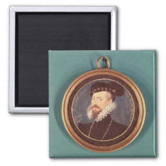 Robert Dudley, Earl of Leicester (c.1532-88) 1576 Square Magnet