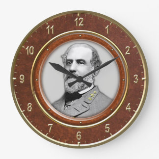"Robert E. Lee10.75"" Large Clock"