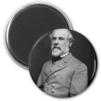 Robert E. Lee 6 Cm Round Magnet