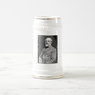 Robert E. Lee Beer Stein 18 Oz Beer Stein