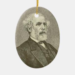 Robert E. Lee Christmas Ornament