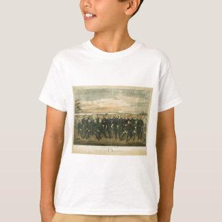 Robert E. Lee & his Civil War Confederate Generals T Shirt