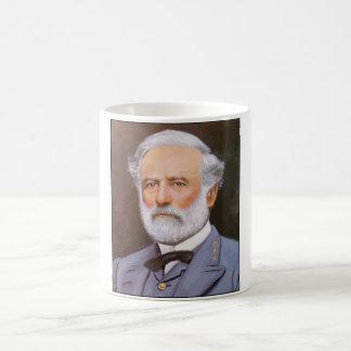 Robert E. Lee Painting Basic White Mug