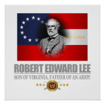 Robert E Lee (Southern Patriot) Poster