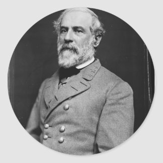 Robert E Lee Stickers