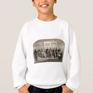Robert E. Lee Surrenders to Ulysses S. Grant Sweatshirt