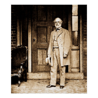 Robert E. Lee Vintage Mathew Brady Poster