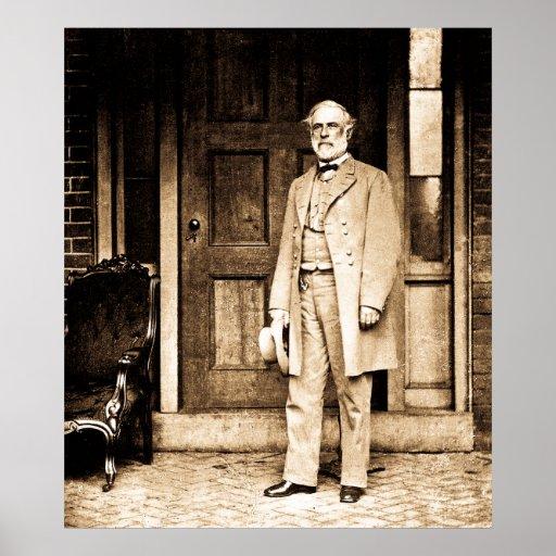 Robert E. Lee - Vintage Mathew Brady Poster