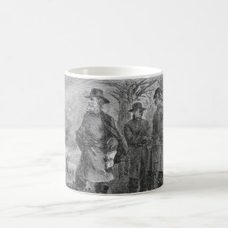 Robert E. Lee with his Soldiers at Fredericksburg Basic White Mug