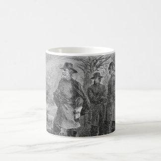 Robert E. Lee with his Soldiers at Fredericksburg Basic White Mug
