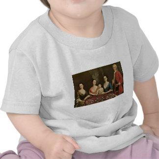 Robert Feke Isaac Royall and His Family T Shirt