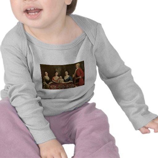 Robert Feke Isaac Royall and His Family T-shirt