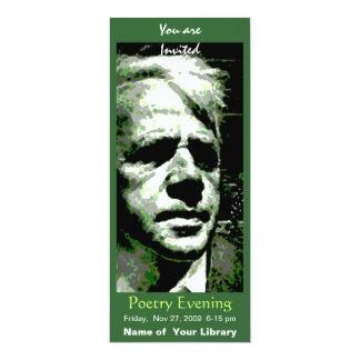 Robert Frost 10 Cm X 24 Cm Invitation Card