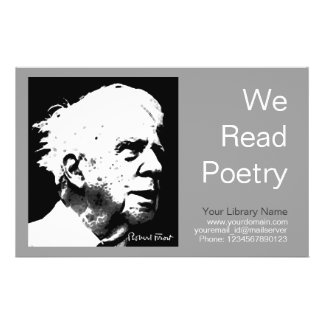 Robert Frost 14 Cm X 21.5 Cm Flyer