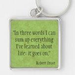 Robert Frost Key Chains