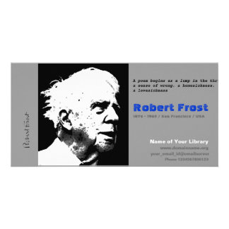 Robert Frost Photo Cards