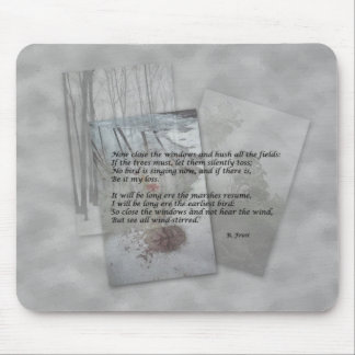 Robert Frost poetry Mouse Pad