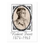 Robert Frost Postcard