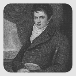 Robert Fulton (1765-1815), engraved by George Park Sticker
